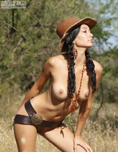Hot Cowgirl Teen 02