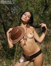 Hot Cowgirl Teen 08