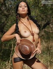 Hot Cowgirl Teen 09