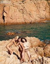 Seaside Teen Threesome 05