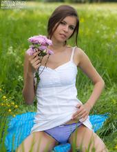 Stunning Teen Posing 02