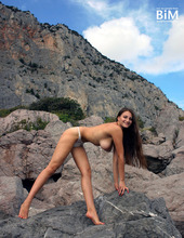 Marina Naked In Nature 12