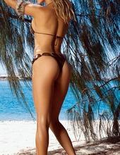 Joanna Krupa Stocking 01