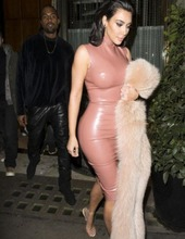 Kim Kardashian in latex 04