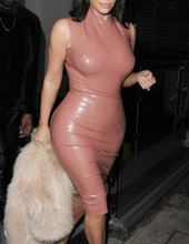 Kim Kardashian in latex 09