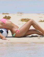 Claudia Romani On The Beach 05