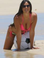 Claudia Romani On The Beach 12