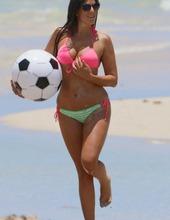 Claudia Romani On The Beach 13