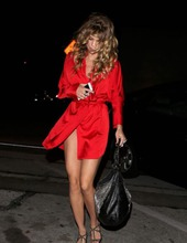 Annalynne McCord In Red 06