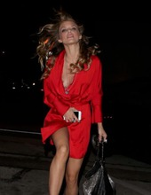 Annalynne McCord In Red 11