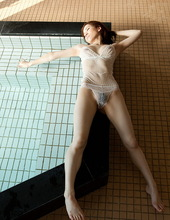 Wet and naked Yuria 10
