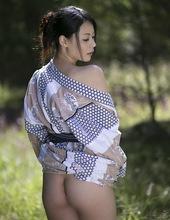 Nana Aida - Don't need that yukata 03