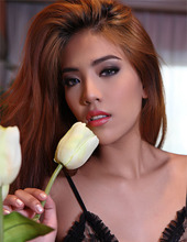 Redhead Asian Babe 01