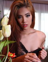 Redhead Asian Babe 02