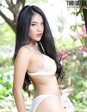 Hot Asian Brunette Babe Arya 04