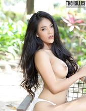 Hot Asian Brunette Babe Arya 10