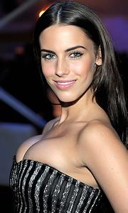 Busty celeb Jessica Lowndes