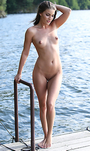 Sindy on the lake