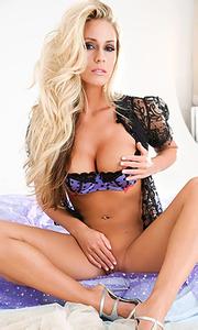 Blonde Alyssa Marie