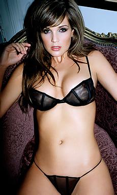 Danielle in lingerie