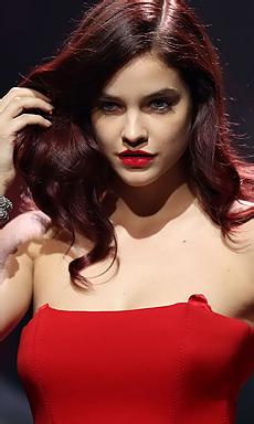 Barbara Palvin Sexy Red