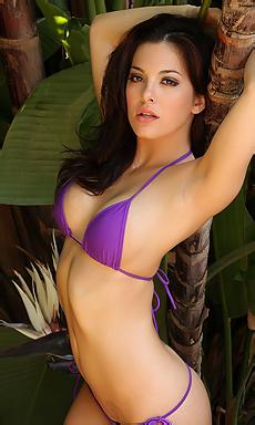 Olivia Purple Bikini
