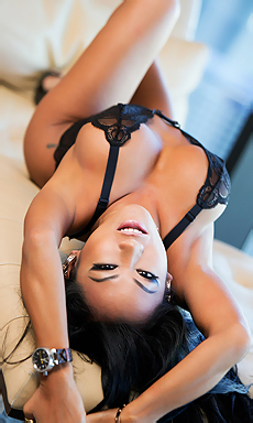 Beauty Asian Babe In Lingerie