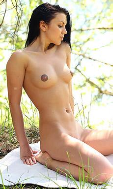 Macy Shows Off Her Juicy Flexible Body