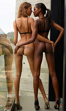 Black And Blonde - Hot Interracial Couple