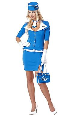 Sexy Topless Stewardesses