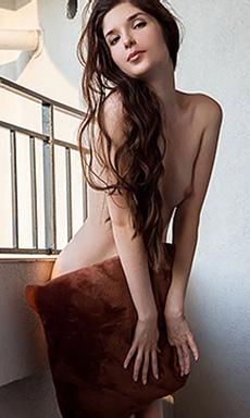 Cute Teen Charmer Stripping