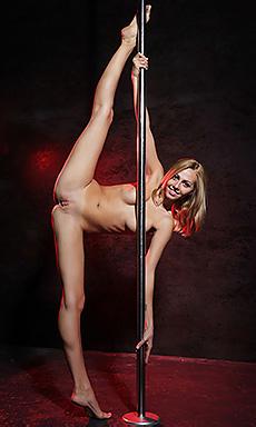 Lija At The Pole