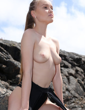 Naked Angel In Lava Field 04