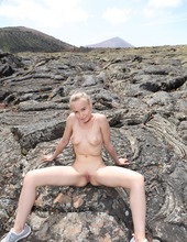 Naked Angel In Lava Field 11