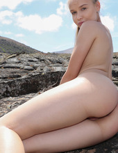 Naked Angel In Lava Field 14